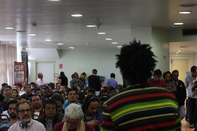 Encontro da Classe Trabalhadora das Américas, realizado em São Paulo, no Hotel San Raphael.